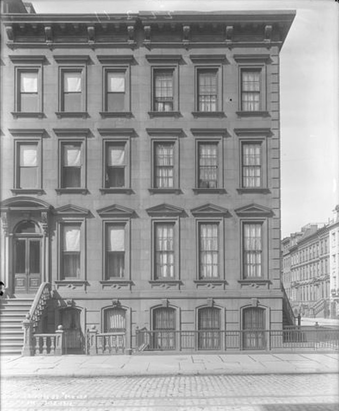 Lexington Avenue and 64th Street - typical turn of the century brownstones