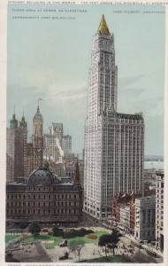 Woolworth Building as built