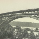 1955 photograph of current Henry Hudson Bridge
