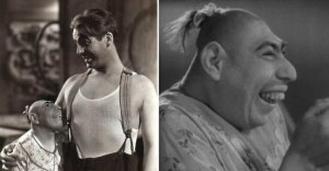 Schlitzie in Tod Browning's Freaks