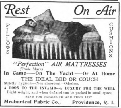 Colliers Ad Air Mattress