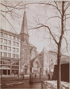 West Presbyterian Church 1897 photo Byron & Co via MCNY