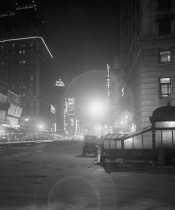 Old New York In Photos #61 – Times Square & Broadway at Night – 1911