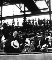 Photographs of Presidents At Opening Day in Washington D.C.