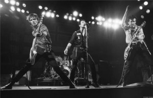 The Clash 1979 - photo: Bob Gruen featuring Rare 1970s Live Rock Videos