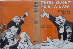 There Ought To Be a Law dustjacket