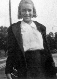 Marilyn Monroe at age 11 when she was just Norma Jeane Baker