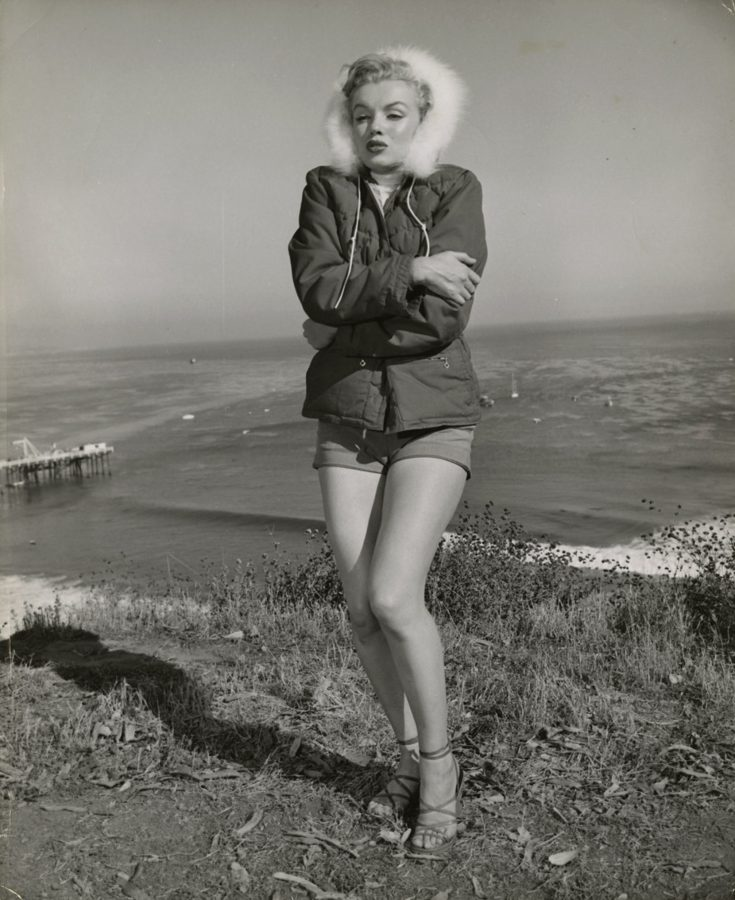 Marilyn Monroe in a parka 1951 photograph: JR Eyerman