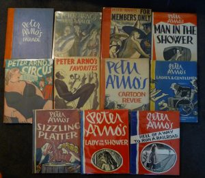 Peter Arno compilation books (photo: SNCA)