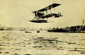Albert C Read's seaplane that crossed the Atlantic in 1919