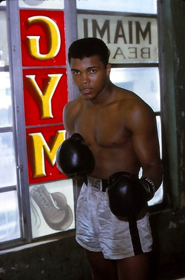 Cassius Clay (Muhammad Ali) in 1963 photo: Marvin Newman