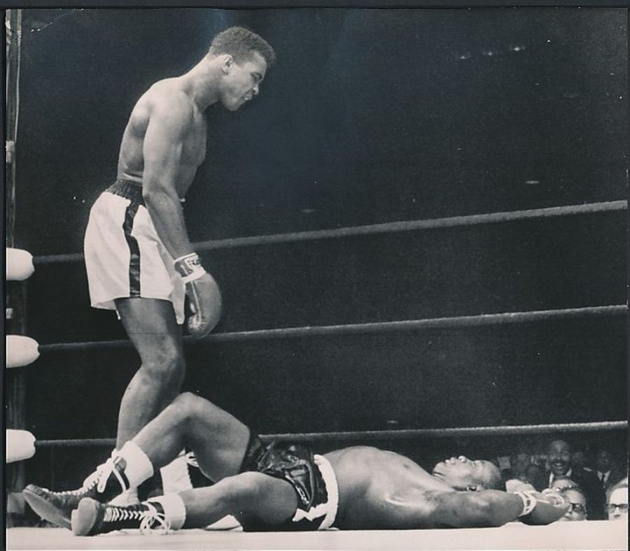 One of the most famous moments in boxing history Muhammad Ali KOs Sonny Liston - May 26 1965 photo: AP
