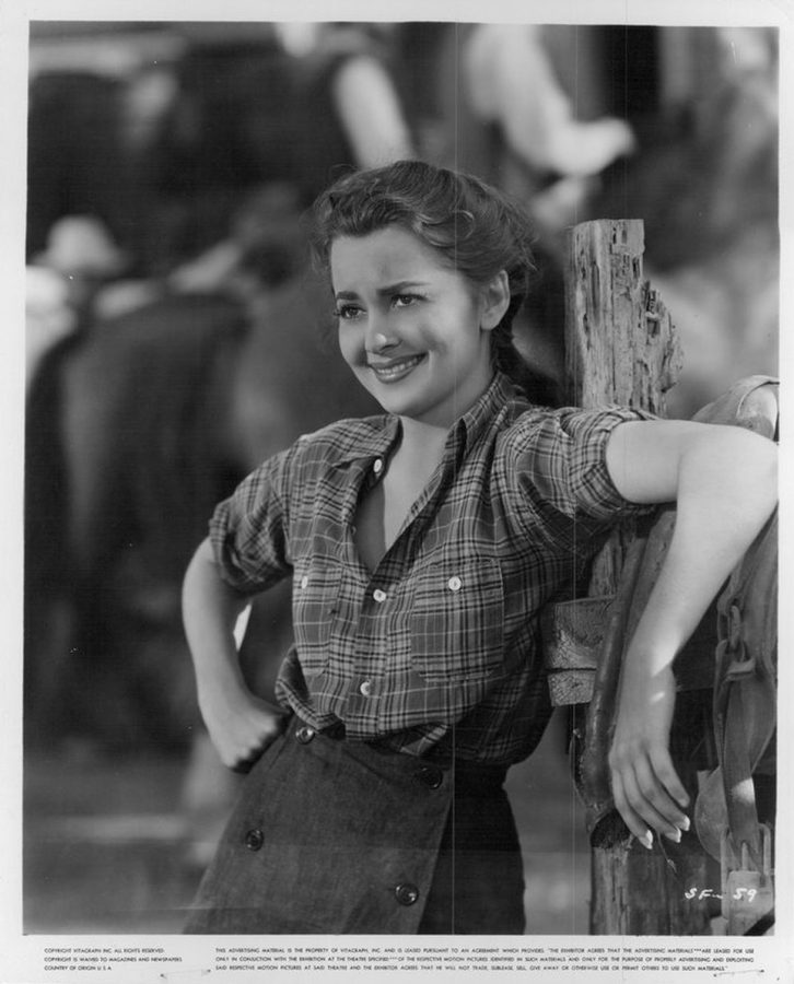 Olivia de Havilland in Santa Fe Trail 1940