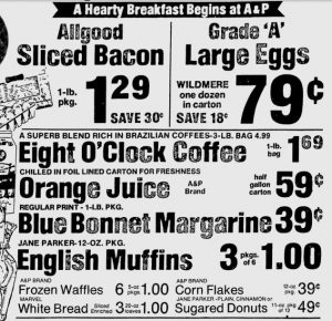 A P Ad Bacon Sept 1 1976