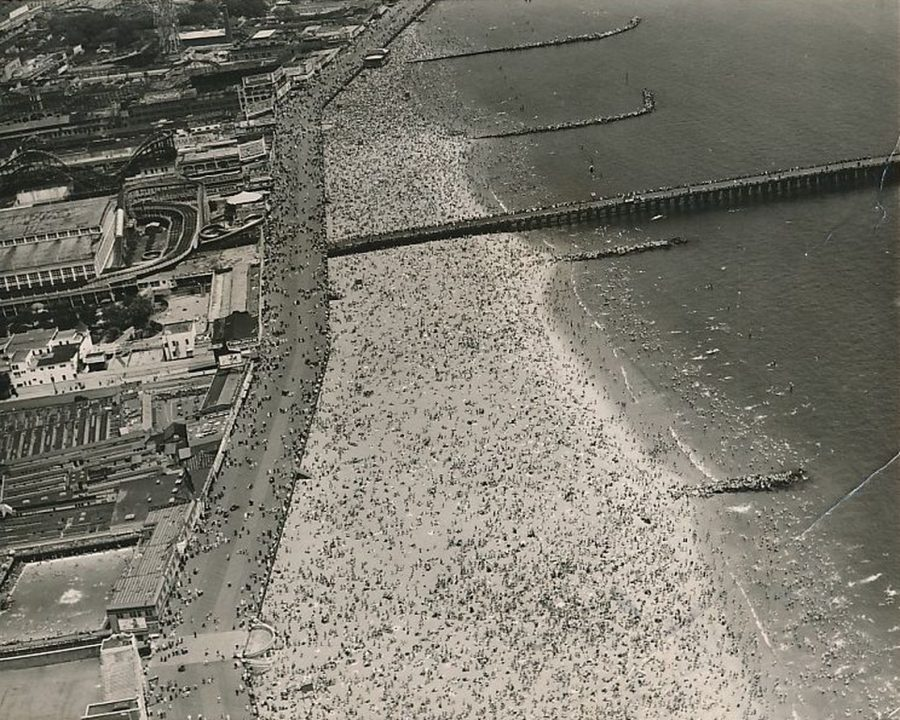 Coney Island July 4, 1937