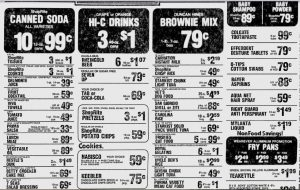 Shop Rite Ad Food Evening News Sept 1 1976