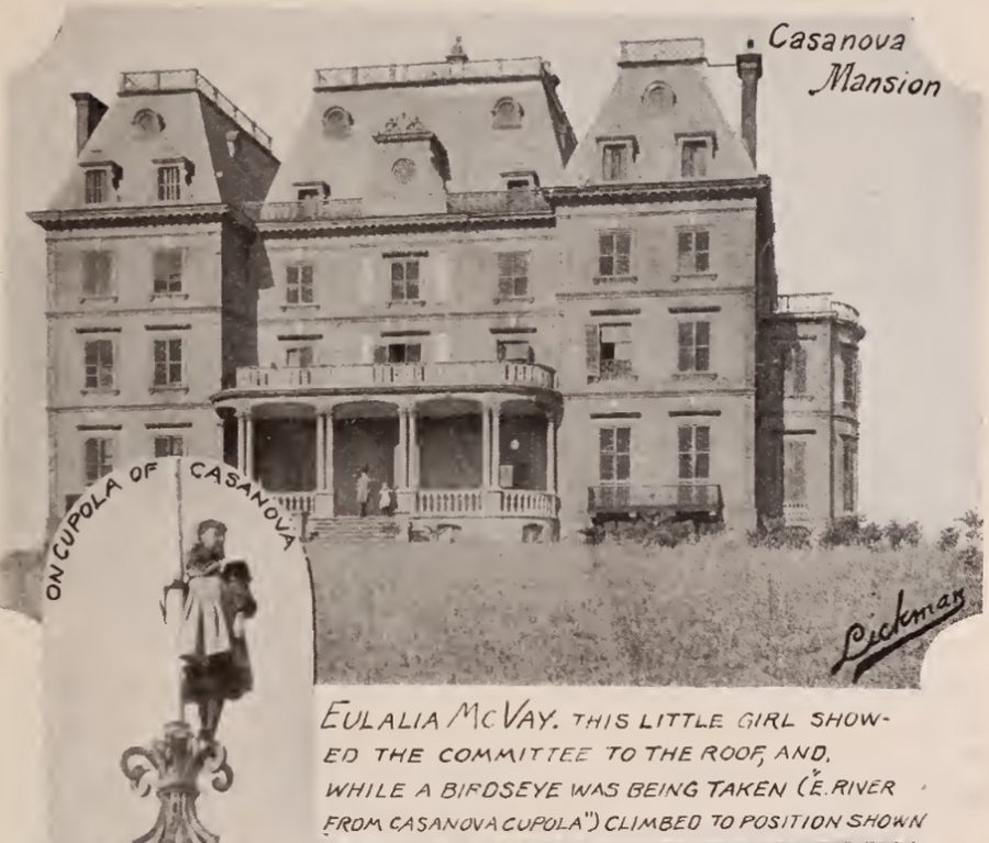 Casanova Mansion, previously the Whitlock Mansion West Farms Bronx 1897