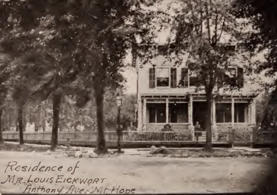 Louis Eickwort residence Anthony-Avenue Mt. Hope Bronx 1897