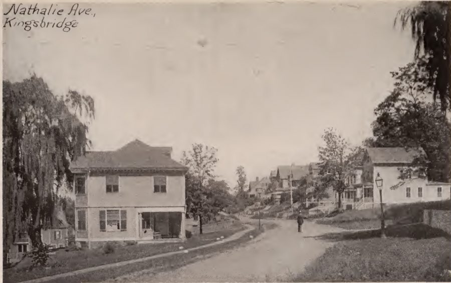 Nathalie Avenue Kingsbridge Bronx 1897