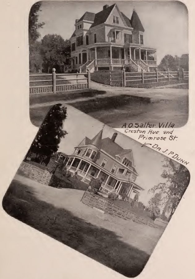 Salter and Dr. Dunn residences Bronx 1897