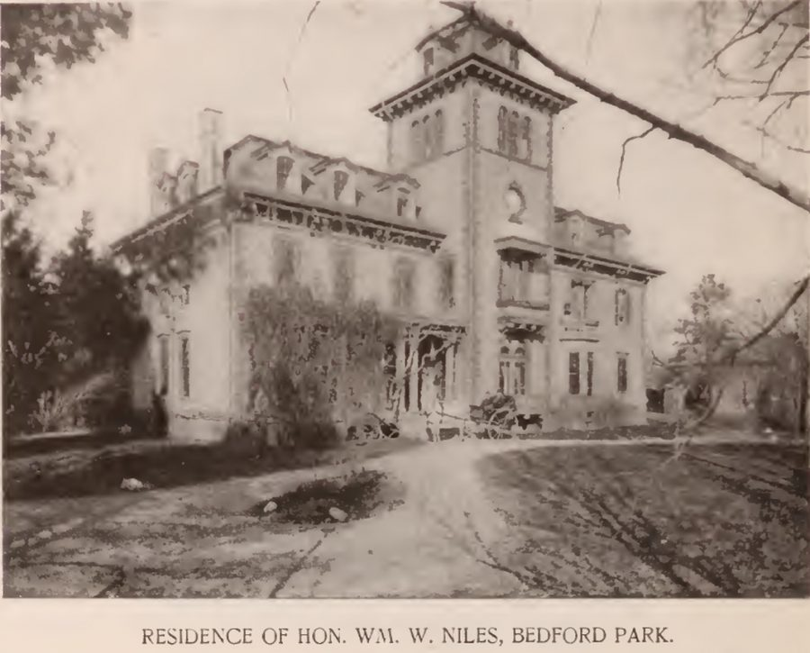 William Niles residence Bedford Park Bronx, NY 1897