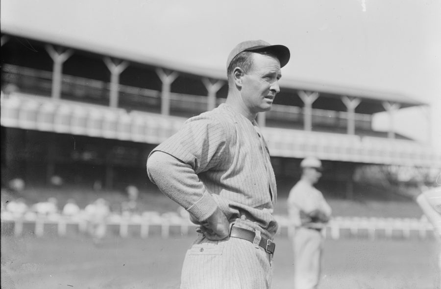 Fran Chance, First Baseman 1908 Chicago Cubs
