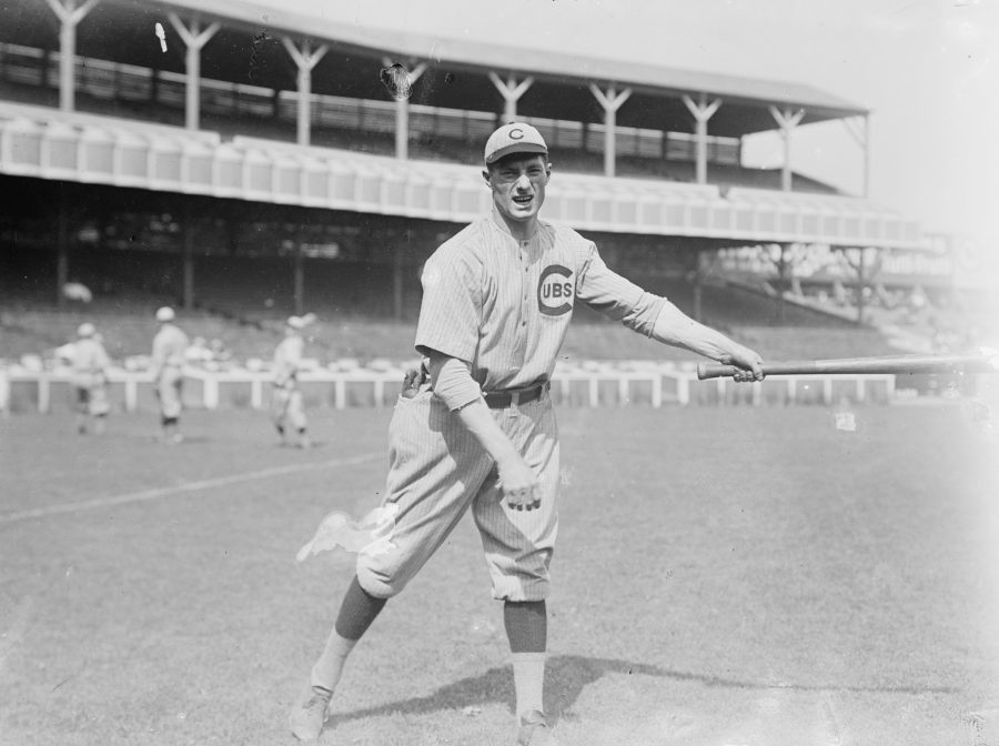 Heinie Zimmerman, Third Baseman 1908 Chicago Cubs