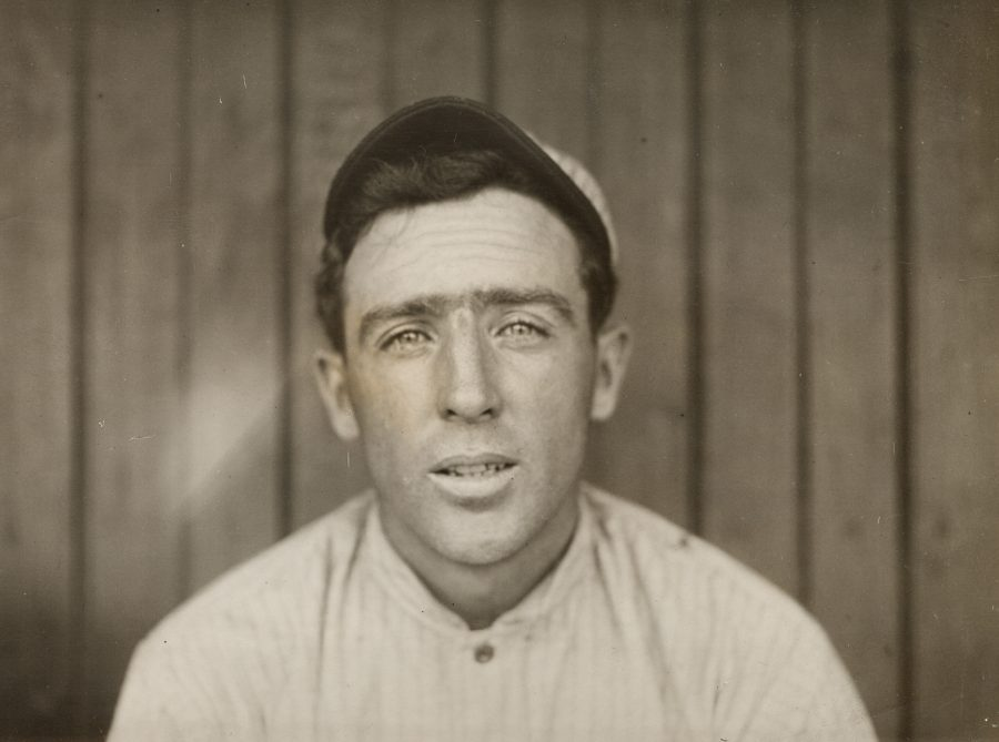 Joe Tinker Second Baseman of the 1908 Chicago Cubs