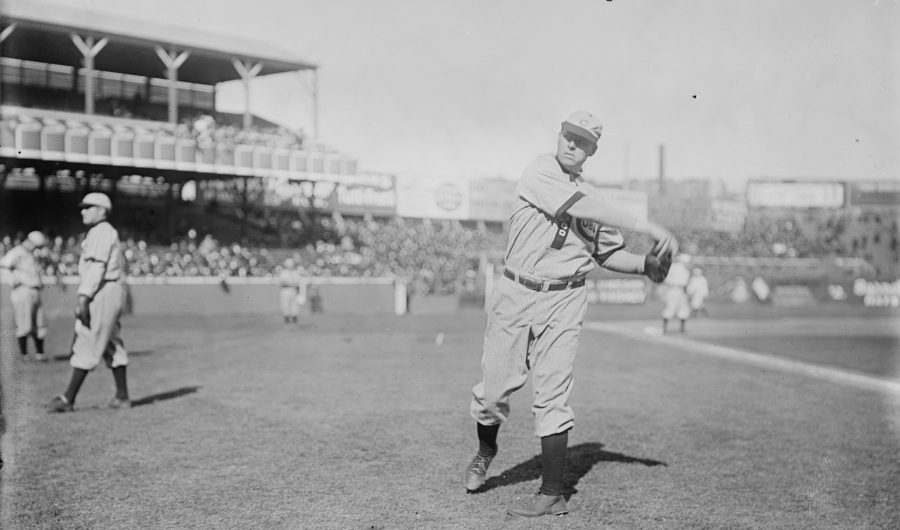 "Mordecai ""Three Finger"" Brown, Pitcher 1908 Chicago Cubs"