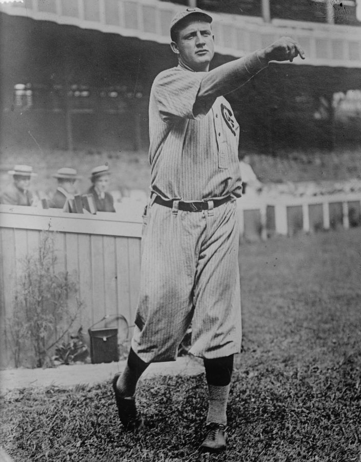 Orval Overall Pitcher 1908 Chicago Cubs