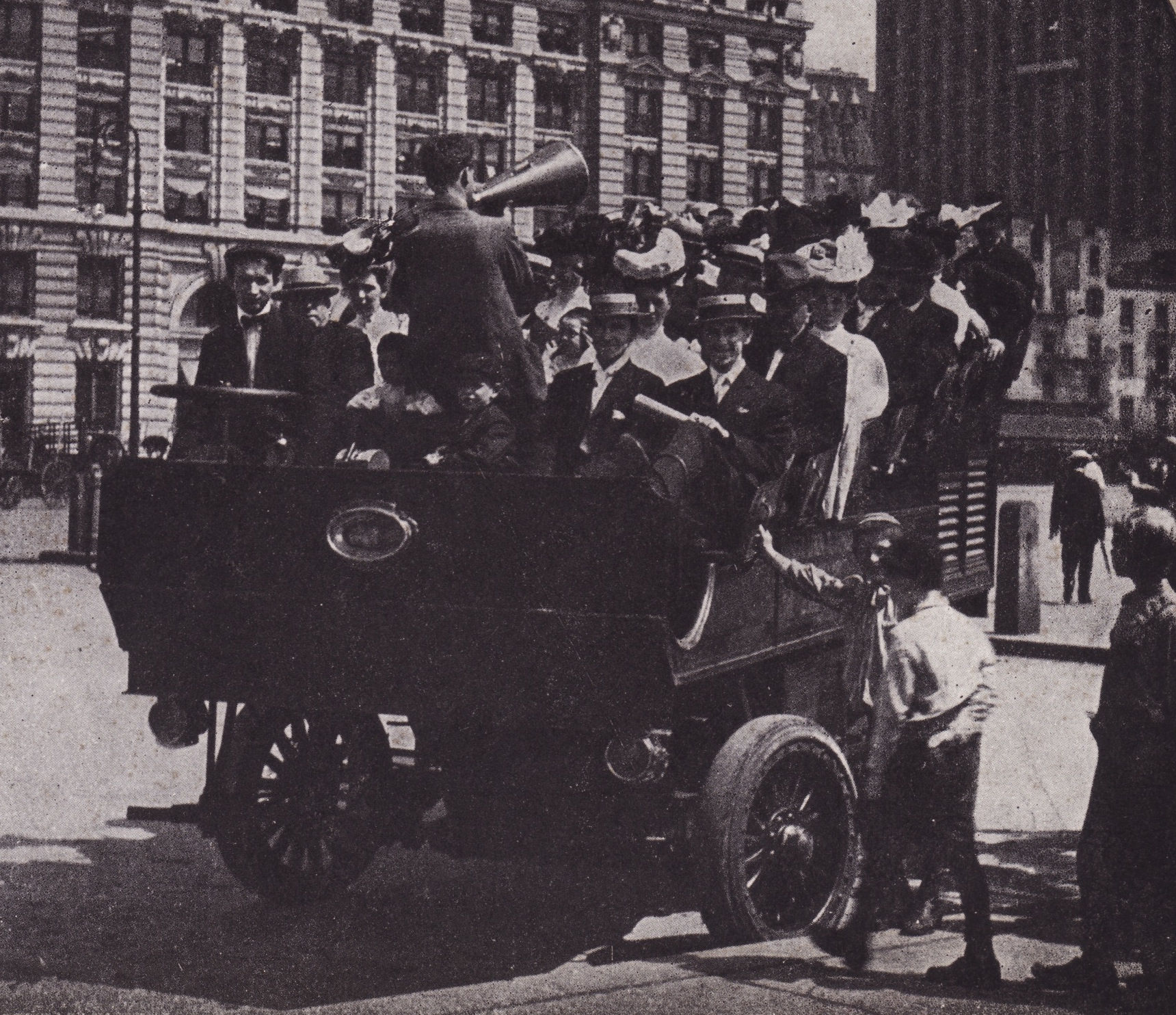 Old New York In Photos #67 – Sightseeing In New York 1906