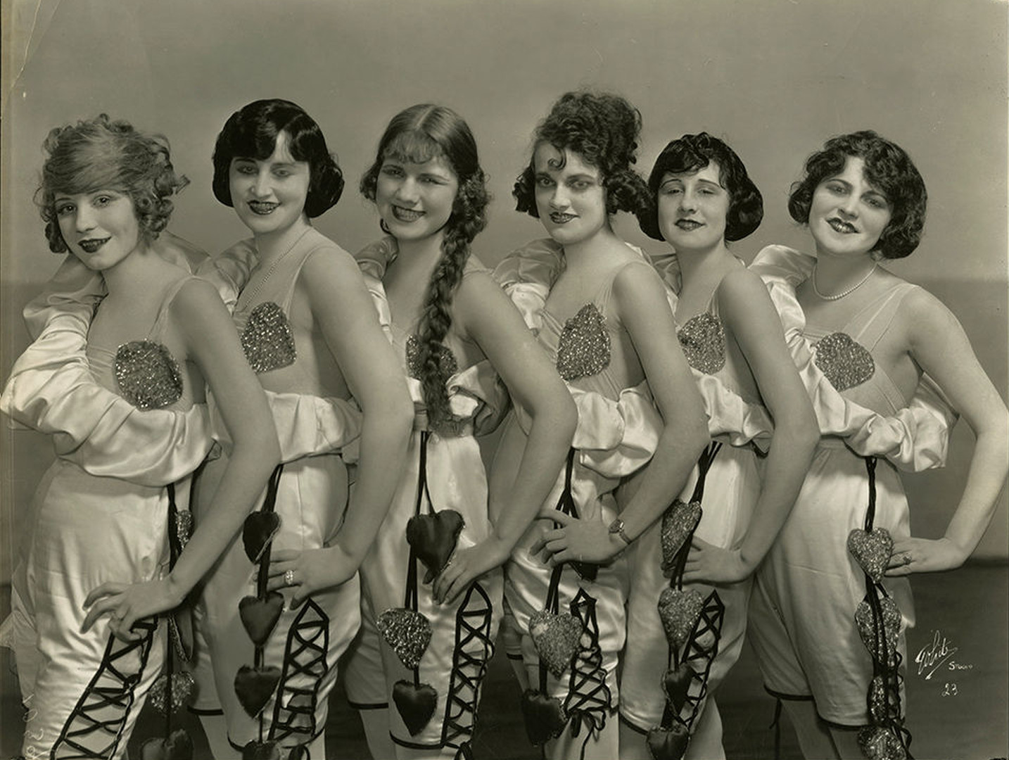 the girls of the chorus from oscar hammerstein s first play 1920