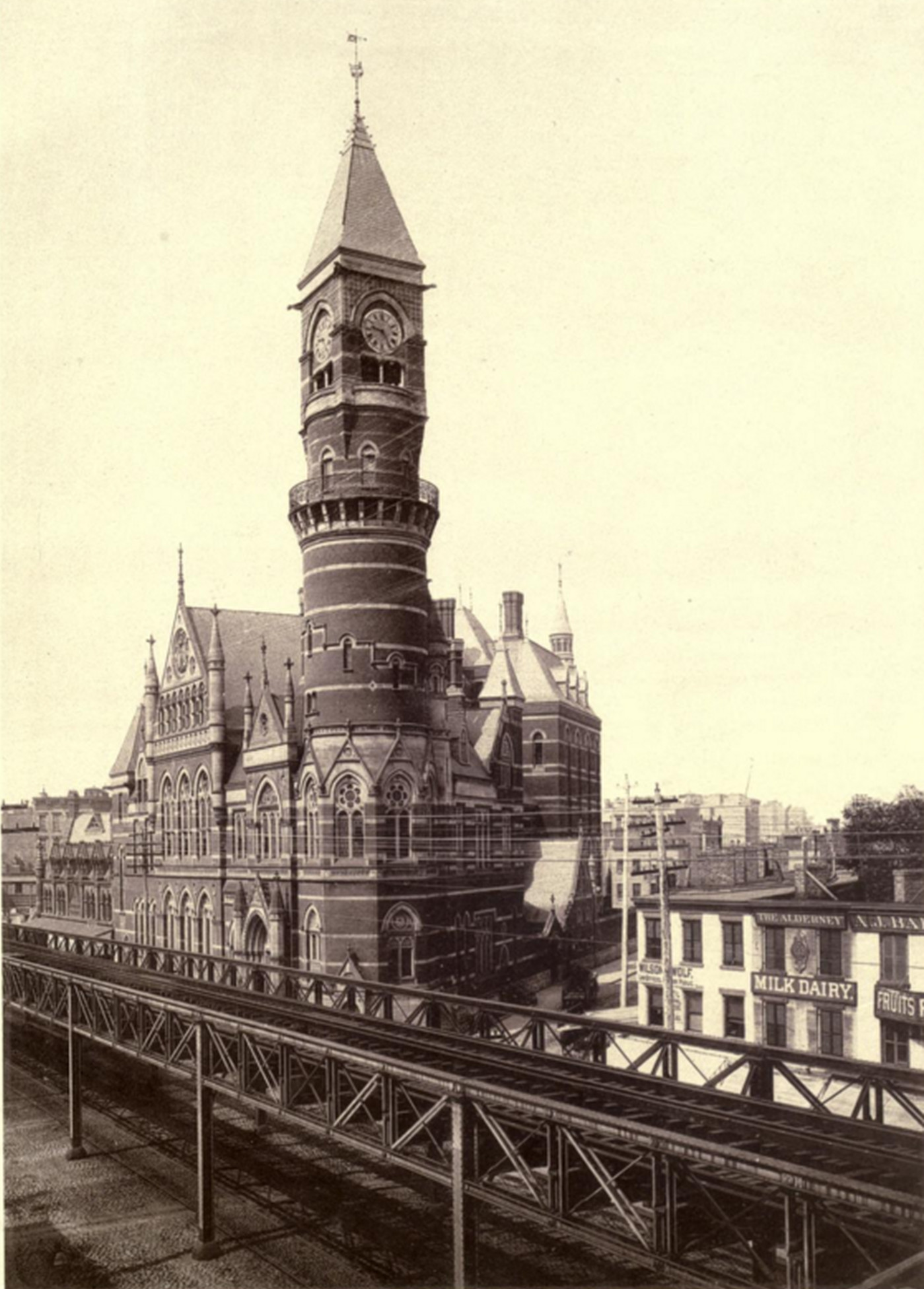 Old New York In Photos #73 – Jefferson Market Courthouse