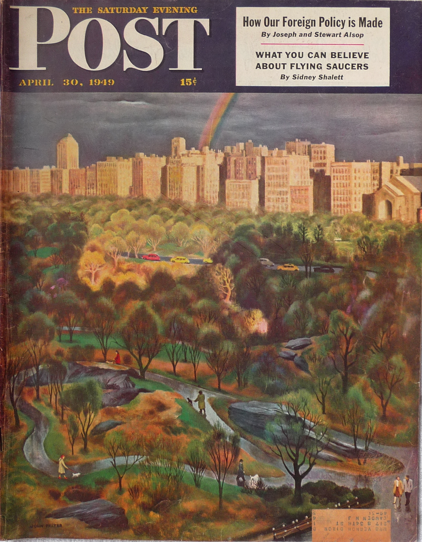 New York In The Late 1940s As Seen By The Saturday Evening Post's Cover Artists