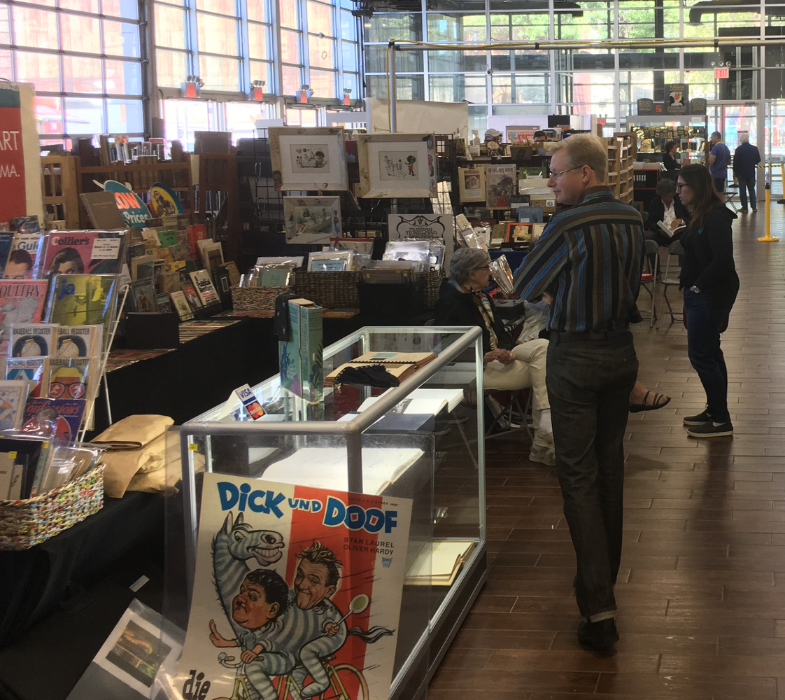 Brooklyn or is it Booklyn? Rare & Collectible Books At The Brooklyn Expo Hall