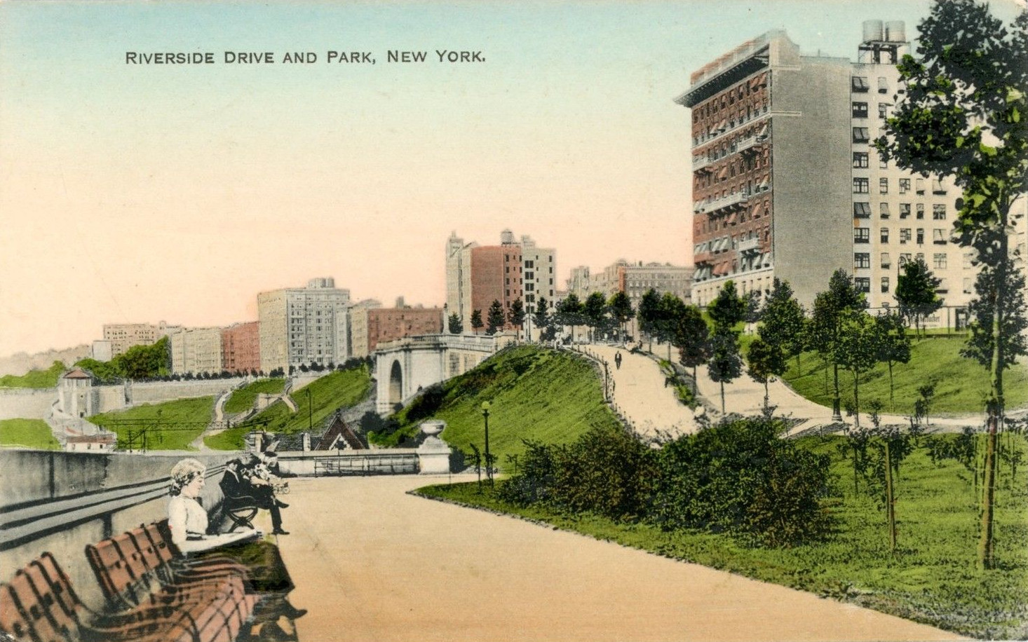 Old New York In Postcards #17 - Riverside Drive