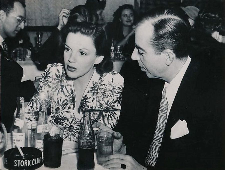 Judy Garland Vincent Minelli Stork Club photo Acme