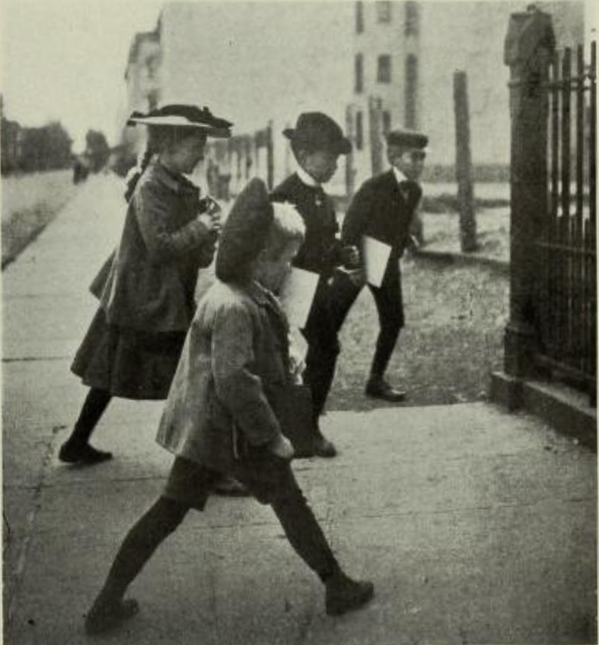 Photographs Of New York City School Life & Children In 1902