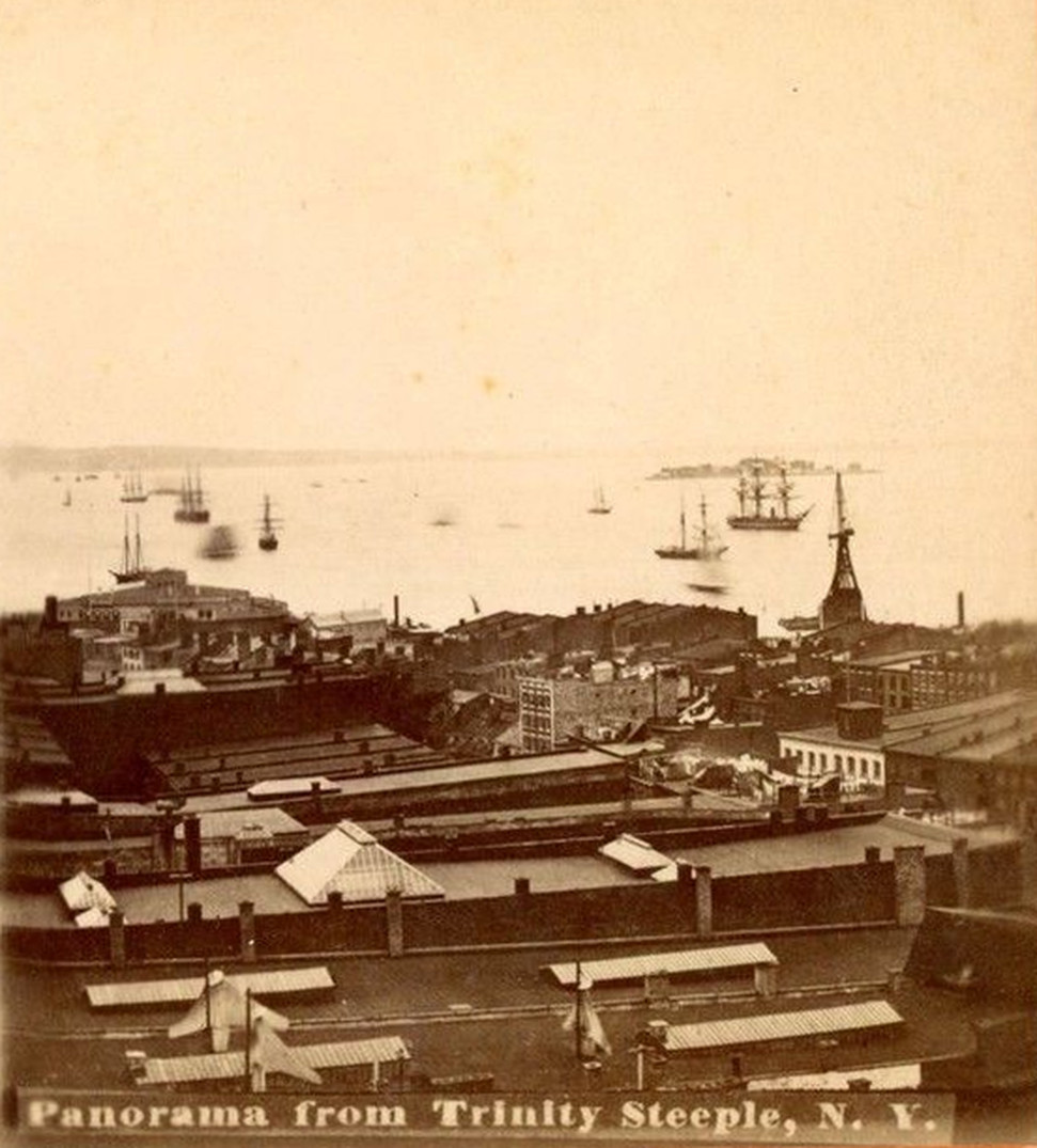 Old New York In Photos #81 - The Best View in New York City c. 1870