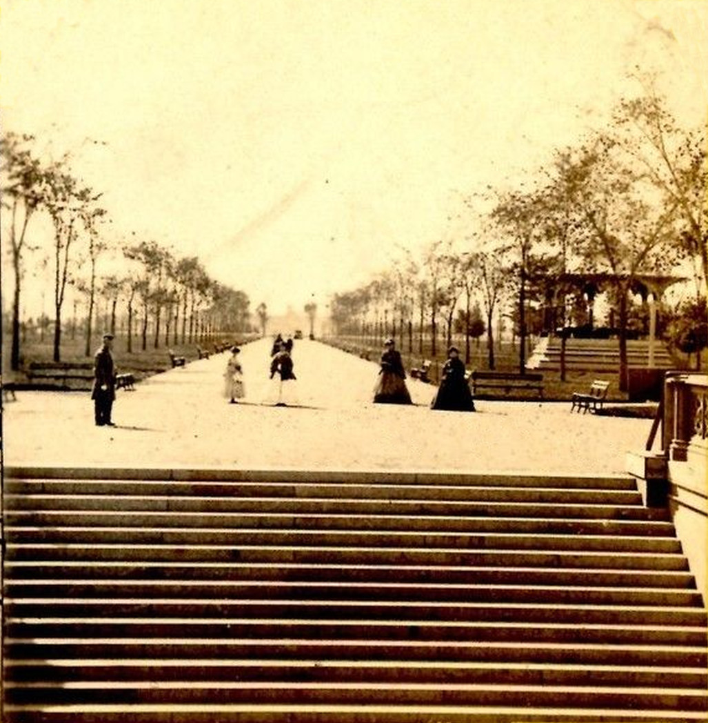 Old New York In Photos #82 - Central Park Mall c. 1870