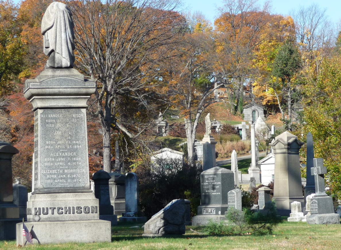 Natural Beauty In Green-Wood Cemetery