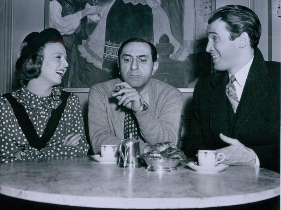 James Stewart Margaret Sullavan Ernst Lubitsch on set Shop Around The Corner 1939