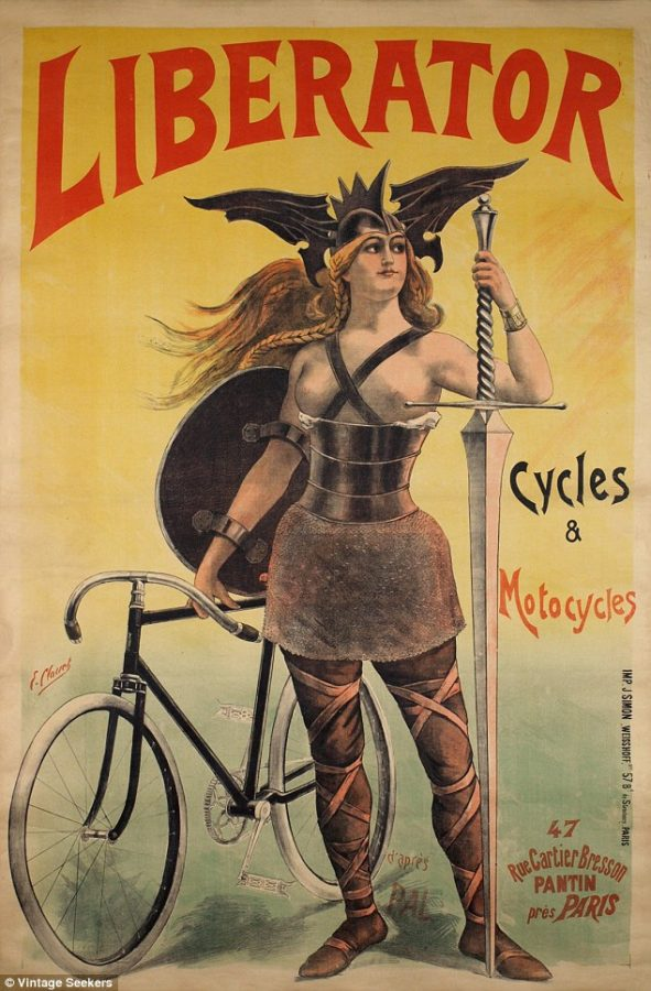 Liberator Bicycles copyright Vintage Seekers