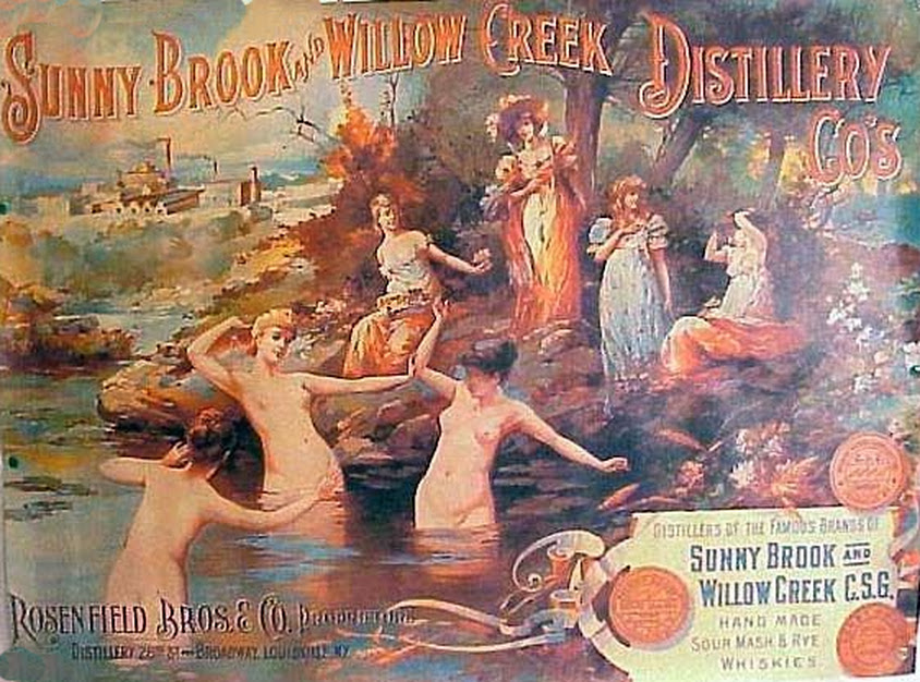 SuNude women Willow Creek Distillery ad