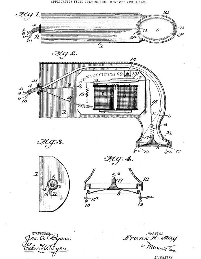 patent by Frank May