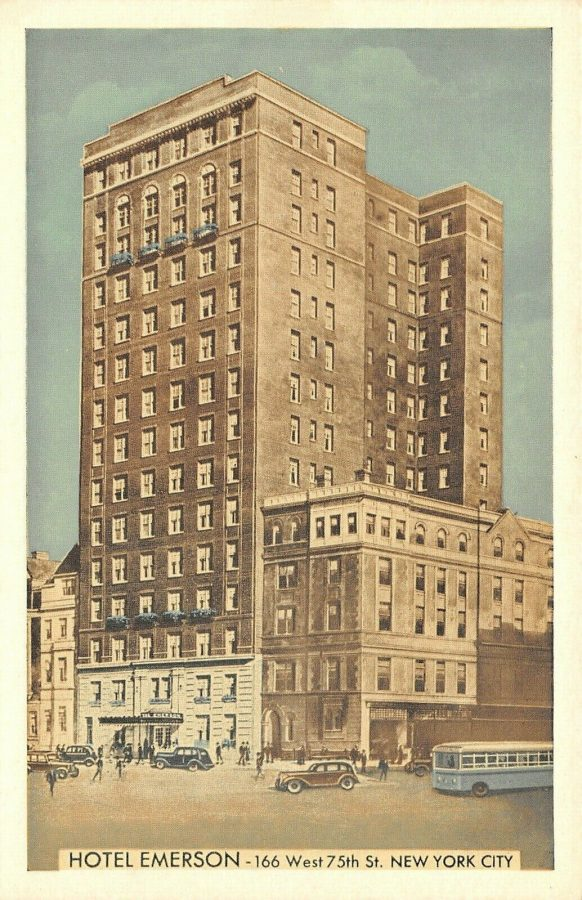 Hotel Emerson 75th Street off Broadway