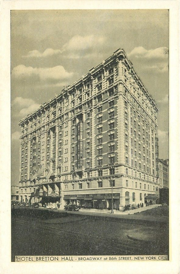 Broadway 86th Street Hotel Bretton Hall New York City