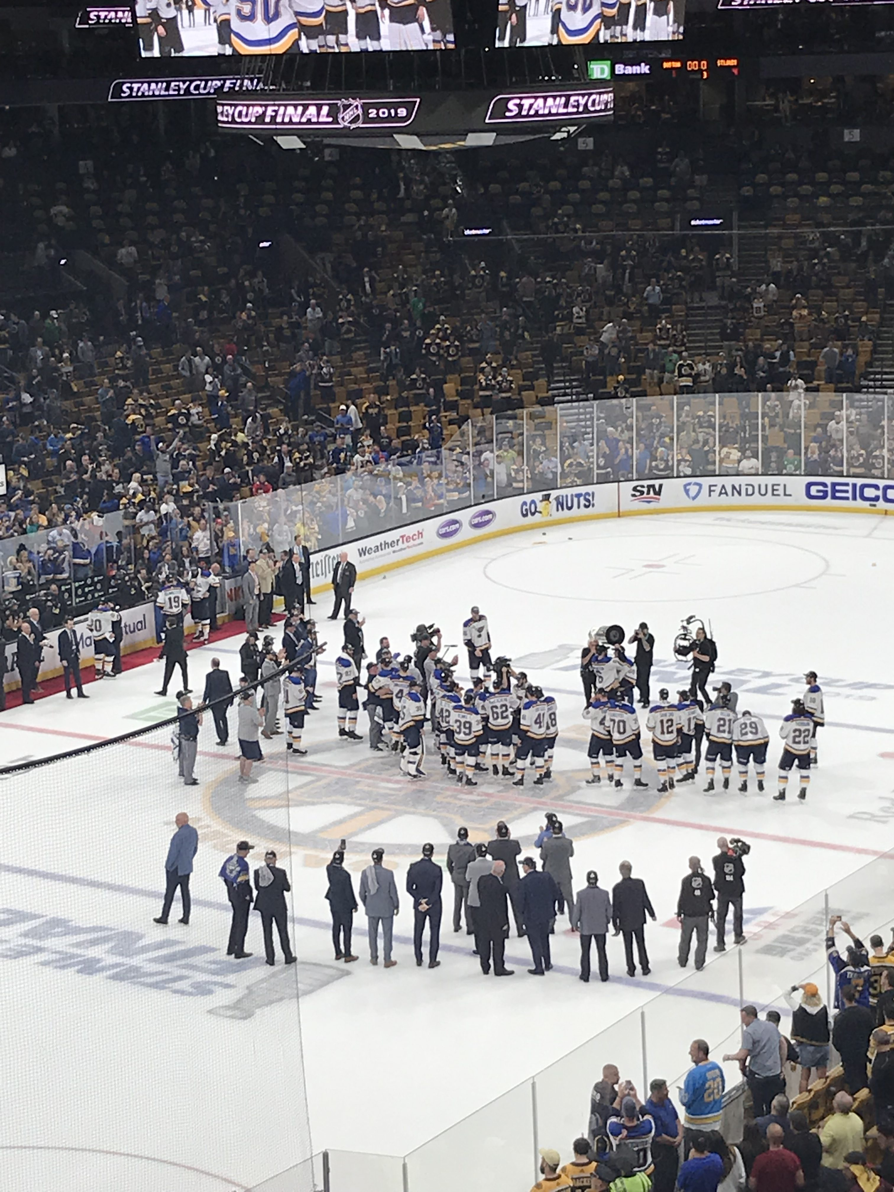 Disappointment in Boston, Happiness For St. Louis - The Blues Finally Win The Stanley Cup