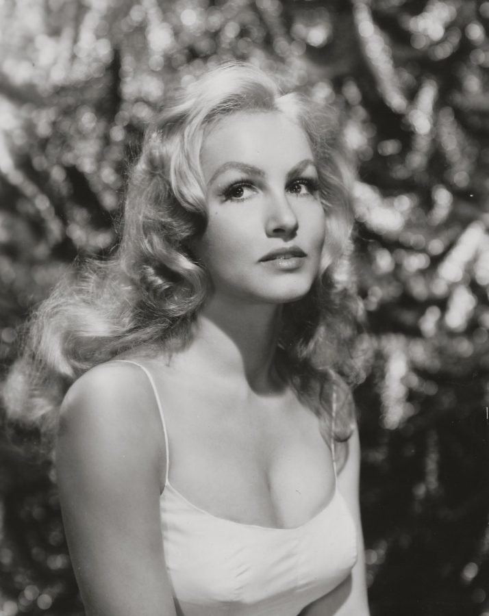 Julie Newmar with Blonde hair