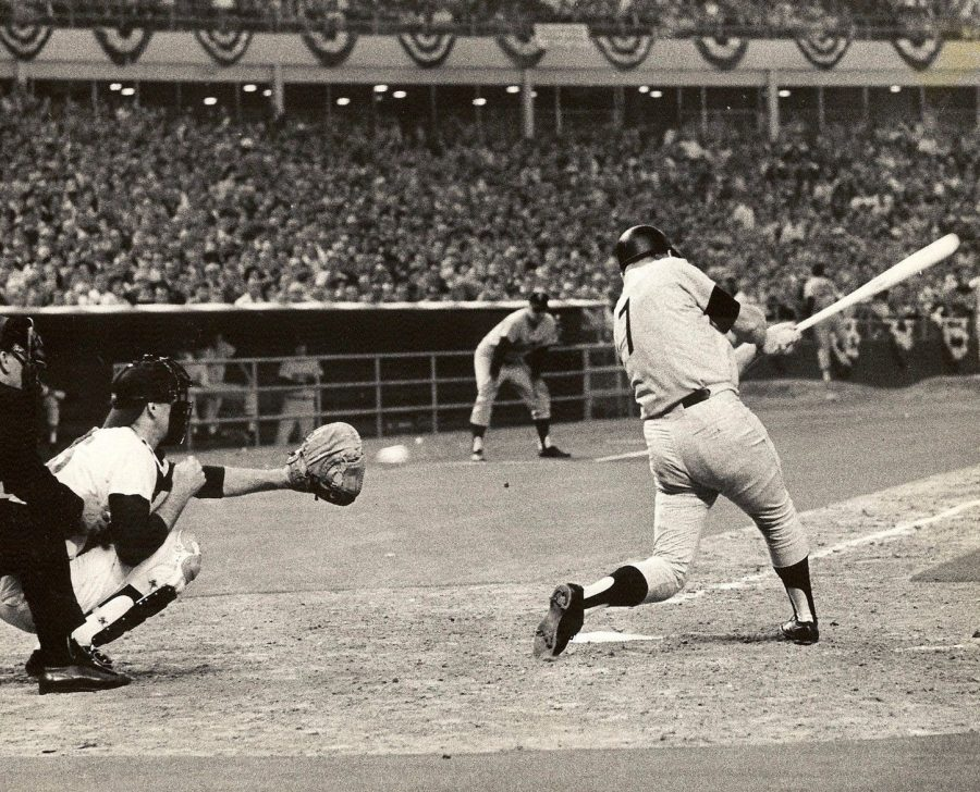 Mickey Mantle final All Star game July 9 1968 strikeout photo Sam C Pierson Jr. Houston Chronicle